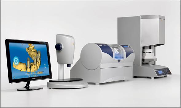 Medición óptica para implantes dentales
