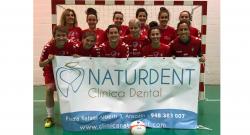 Naturdent patrocina al equipo de fútbol sala femenino Osasuna Lacturale Orvina
