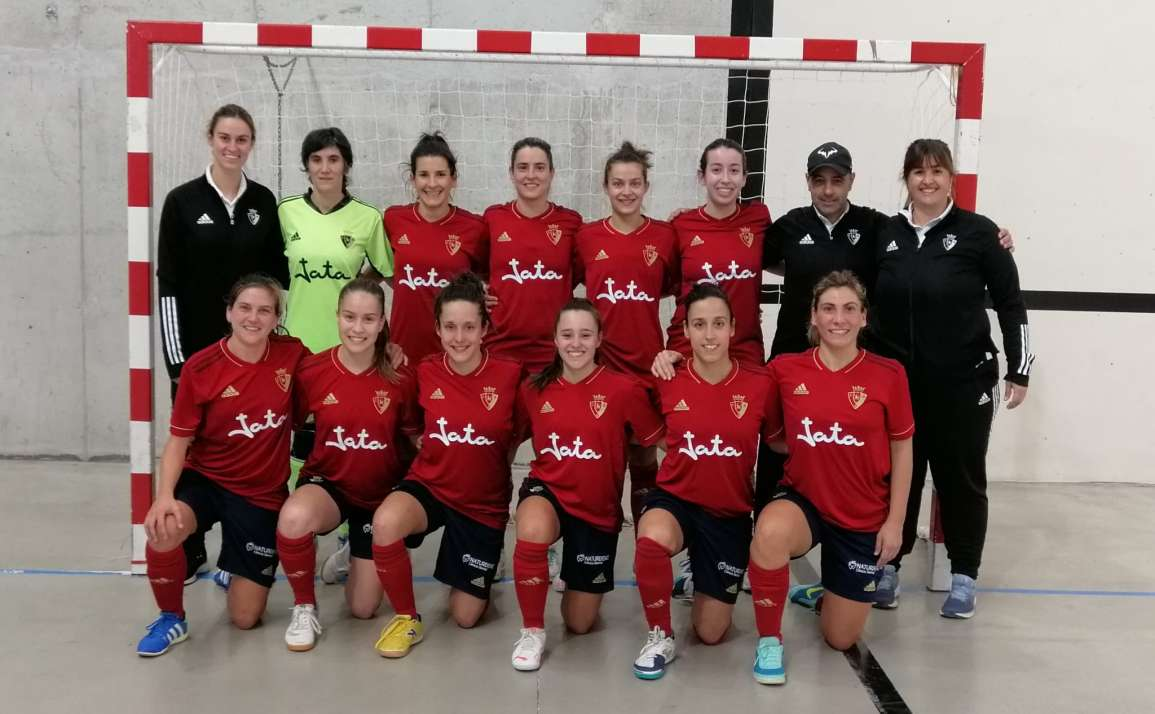 Naturdent patrocina al equipo femenino Osasuna Futsal